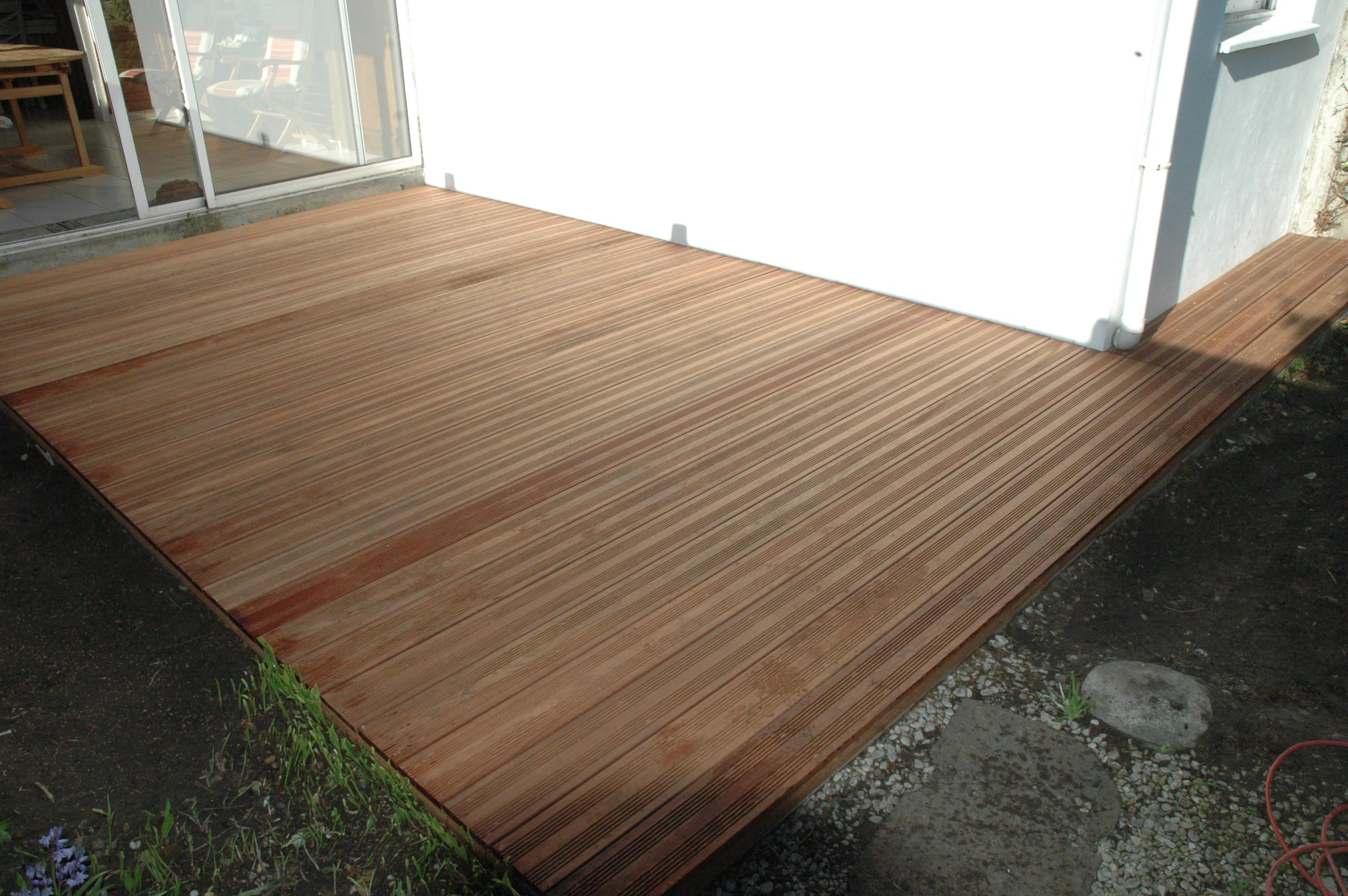 Terrasse bois Jatoba  terminé