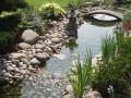 Rivière intégrée au Jardin Zen