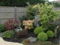 Massif paysagé intégré au jardin Zen