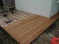 Terrasse bois Jatoba - en cours de construction