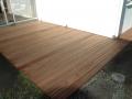 Terrasse bois Jatoba - terminé